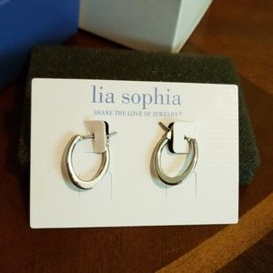 Lia Sophia Jewelry - Lia Sophia hoop earrings